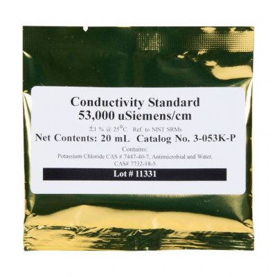 Conductivity 53ms Calibration Fluid