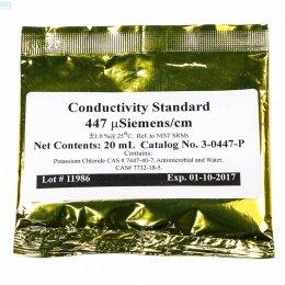 Conductivity 447 Calibration Fluid